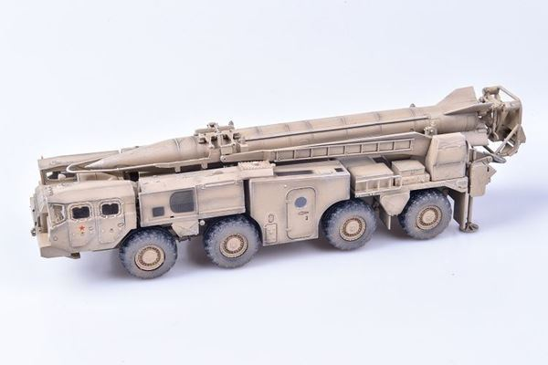 Picture of 9P117 Strategic missile launcher SCUD C  in  Middle East Area